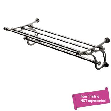 Waterworks Nickel, Satin Bathroom Shelf Product Number: 22-22689-34553