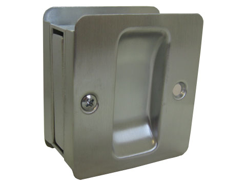 TRIMCO Chrome, Satin Door Pull Product Number: 1064-26D