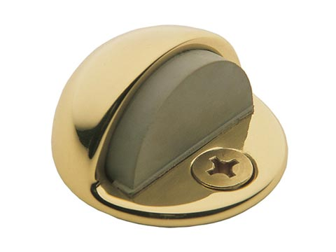 Baldwin Hardware Brass, Polished PVD Door Stop/Holder Product Number: 4000.003