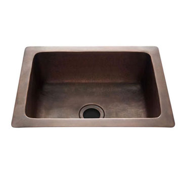 Waterworks Copper, Antique Bar Sink Product Number: 11-12974-99876