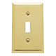 Baldwin Hardware Brass, Polished Switchplate Product Number: 4751.030.CD
