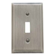Baldwin Hardware Nickel, Antique Switchplate Product Number: 4751.151.CD