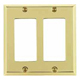 Baldwin Hardware Brass, Polished Switchplate Product Number: 4741.030.CD