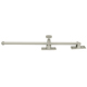 Deltana Nickel, Antique Casement Adjuster Product Number: CSA12HD15A
