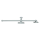 Deltana Chrome, Polished Casement Adjuster Product Number: CSA12U26