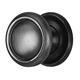 Alno Black Cabinet Knob Product Number: A1160-MB
