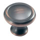 Schaub Bronze, Oil Rubbed Lacquered Cabinet Knob Product Number: 711-MIBZ