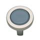 Atlas Homewares Nickel, Satin Cabinet Knob Product Number: 229-BLU/BRN