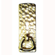 B & M Brass, Polished Drop & Ring Pull Product Number: 1112-PB
