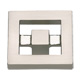 Atlas Homewares Nickel, Satin Cabinet Knob Product Number: 260-BRN