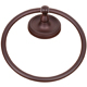 RK International Nickel, Antique Towel Ring Product Number: RBPA-5