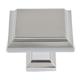 Atlas Homewares Nickel, Satin Cabinet Knob Product Number: 289-BRN