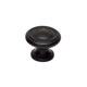 Alno Black Cabinet Knob Product Number: A1049-MB