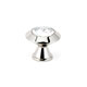 Alno Nickel, Satin Cabinet Knob Product Number: C214-CLR/SN