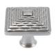 Atlas Homewares Nickel, Satin Cabinet Knob Product Number: 237-BRN