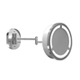 Baci Chrome, Polished Magnifying Mirror Product Number: M2-LED-WB-3X-CHR