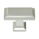 Atlas Homewares Nickel, Satin Cabinet Knob Product Number: 290-BRN