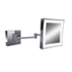 Baci Chrome, Polished Magnifying Mirror Product Number: E22-LED-HW CHROME