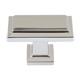 Atlas Homewares Nickel, Polished Cabinet Knob Product Number: 290-PN