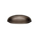Alno Bronze, Oil Rubbed Cup & Bin Pull Product Number: A1263-CHBRZ