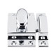 Top Knobs Chrome, Polished Cabinet Latch Product Number: M1780