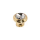 Alno Gold, Polished Cabinet Knob Product Number: C211-CLR/GLD