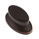 Continental Hardware Bronze, Oil Rubbed Cabinet Knob Product Number: RL060421