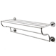 Waterworks Chrome, Polished Bathroom Shelf Product Number: 22-24737-80623