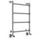 Mr Steam Nickel, Satin Towel Warmer Product Number: H542BN