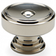 Waterworks Nickel, Satin Cabinet Knob Product Number: 22-11244-69226