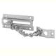 Ives Chrome, Satin Door Guard Product Number: 481B26D