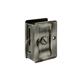 Deltana Brass, Polished & Polished Chrome Sliding Door Lock Product Number: SDLA325U3/26
