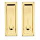 Baldwin Hardware Brass, Polished Sliding Door Lock Product Number: 8570.030