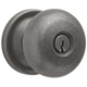 Baldwin Hardware Nickel, Antique Entrance Lock Product Number: 5205.151.ENTR