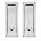 Baldwin Hardware Chrome, Polished Sliding Door Lock Product Number: 8570.260