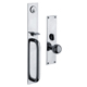 Baldwin Hardware Chrome, Polished Entrance Trim Only Product Number: 6540.260.ENTR
