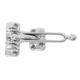 Ives Chrome, Satin Door Guard Product Number: 482B26D