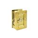 Deltana Brass, Polished Sliding Door Lock Product Number: SDLA325U3