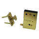 Ives Brass, Satin (Coated) Touch Latch Product Number: CL12 US4