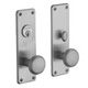 Baldwin Hardware Brass, Polished PVD Entrance Trim Only Product Number: 6551.003.ENTR