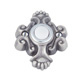 Atlas Homewares Nickel, Antique Doorbell Button Product Number: DB638-P