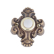 Atlas Homewares Bronze, Oil Rubbed Doorbell Button Product Number: DB638-BB