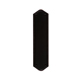 RK International Black Push Plate Product Number: PP1812-BL