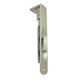 Deltana Nickel, Satin Flush Bolt Product Number: 6FBR15
