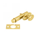Deltana Brass, Polished PVD Privacy Bolt Product Number: MB175CR003