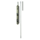 Deltana Nickel, Satin Flush Bolt Product Number: 18EFB15