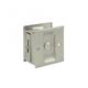 Deltana Nickel, Polished Sliding Door Lock Product Number: SDL25U14