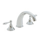 California Faucet Nickel, Satin Tub Filler Product Number: TO-6408-SN