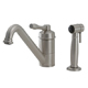 Aquabrass Nickel, Satin Kitchen Faucet Product Number: 1103SBN