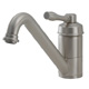 Aquabrass Nickel, Satin Kitchen Faucet Product Number: 1103NBN
